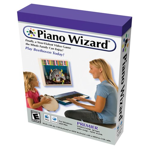 Piano Wizard Premier Video Game