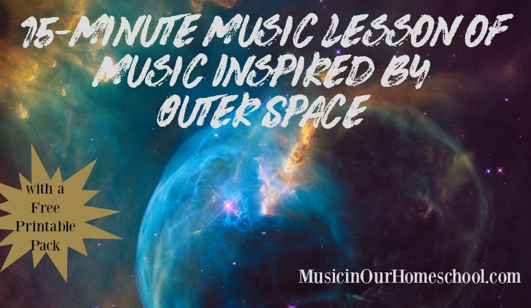 15-Minute Music Lesson of Music Inspired by Outer Space