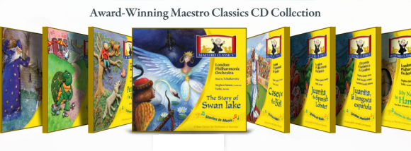 Maestro Classics CDs available at the Homeschool Buyers Co-op