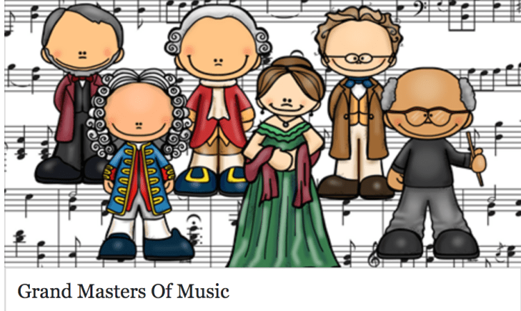 Grand Masters of Music composer study online course