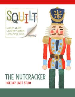 SQUILT Nutcracker Holiday Unit Study. Use as a music appreciation lesson for your kids to help them learn about ballet, vocabulary, instruments, Tchaikovsky, etc. Notebooking pages included. From Music in Our Homeschool.