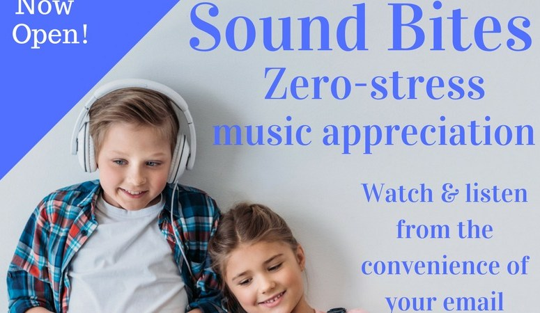 Sound Bites: Music Appreciation Straight to Your Inbox