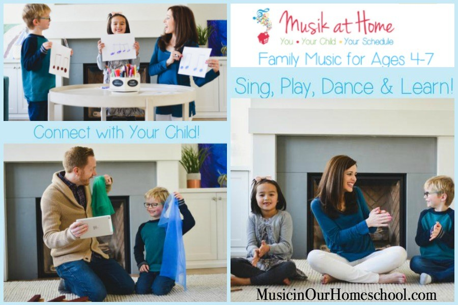 """Do """"Family Music for Ages 4-7"""" Mommy & Me Class in the comfort of your own home!"""
