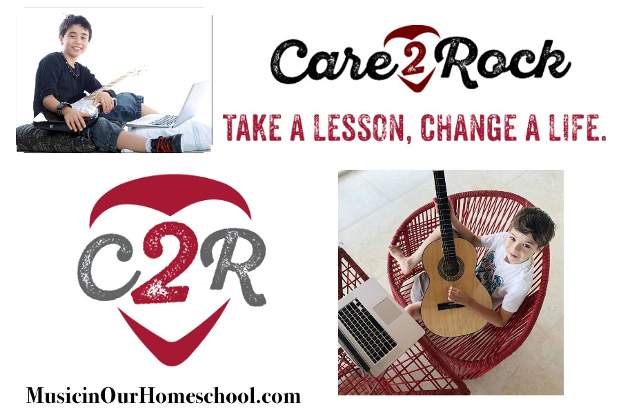 Care2Rock Online Music Lessons #musiclessons #musiclessonsforkids #onlinemusiclessons #musicinourhomeschool
