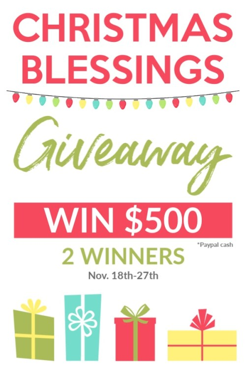 Christmas Blessings Giveaway