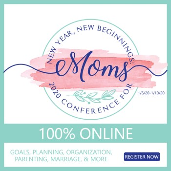 New Year New Beginnings 2020 Online Moms Conference