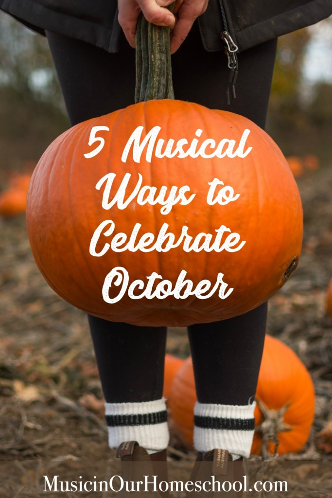 5 Musical Ways to Celebrate October, great music ed ideas for babies through high schoolers!