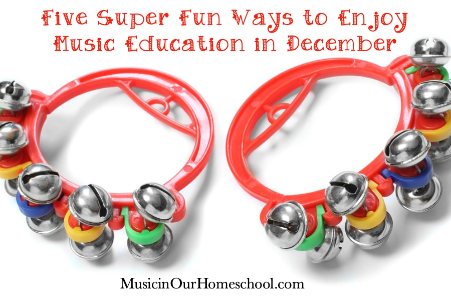 Five Super Fun Ways to Enjoy Music Education in December