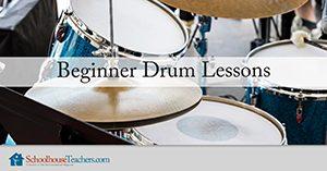 Beginner Drum Lessons from Schoolhouse Teachers