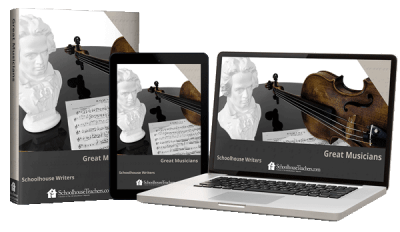 Great Musicians course from Schoolhouse Teachers