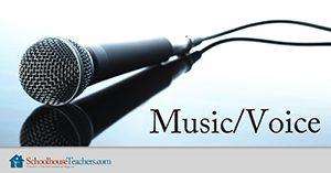 Music/Voice class at Schoolhouse Teachers