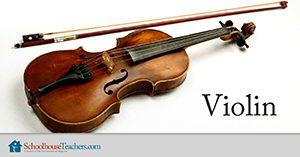Violin lessons at Schoolhouse Teachers