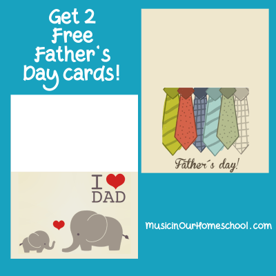Two Free Father's Day Cards