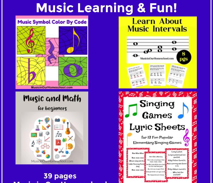 Music Learning and Fun Printable Set