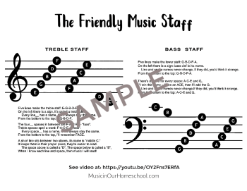 The Friendly Music Staff