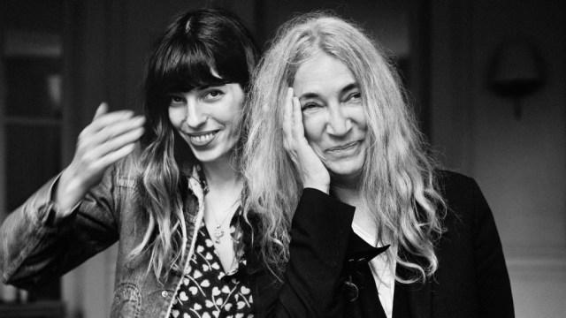Lou Doillon et Patti Smith