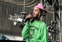 Gym Class Heroes at the ShoreLime Ampitheater in Mountain View, CA