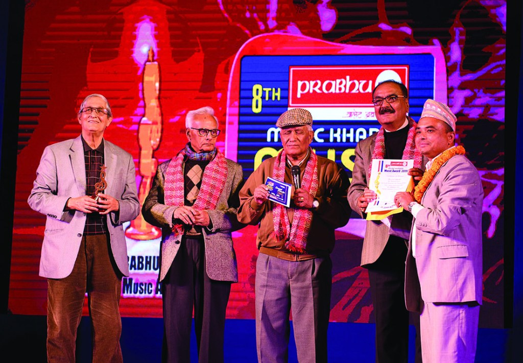 Prabhu Pay Music Khabar Music Award