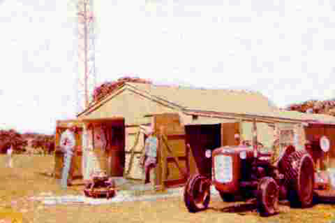 The old shed at Musick Memorial Radio Station