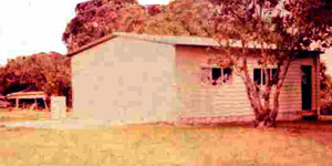 The new shed at Musick Memorial Radio Station