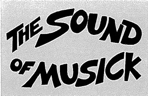 Post Office Magazine headline 'The Sound of Musick'