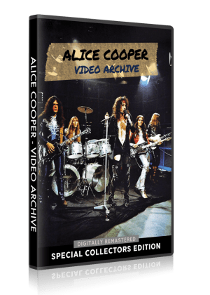 Alice Cooper - Video Archive DVD cover