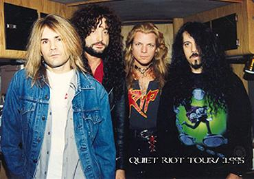 Quiet Riot Chuck Wright era