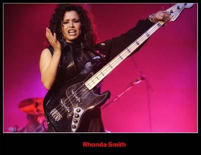 Rhonda Smith Interview PRINCE bassist   October 2011