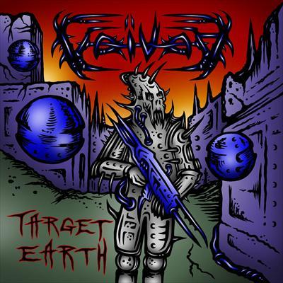 Voivod Target Earth Daniel Mongrain