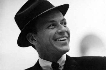 Frank Sinatra with hat 1967