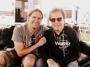 Rick Derringer Jason Saulnier dutch mason blues festival