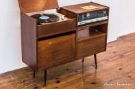Radiola Concertino z mechanizmem gramofonowym G 291 (1971)