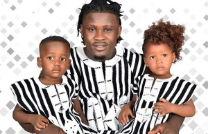 Eric Geso and his twins; Eric and Erica