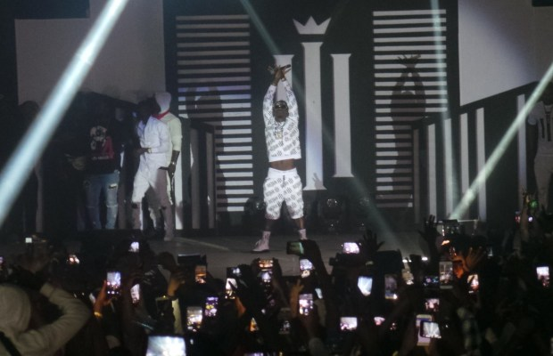 Shatta Wale at Reign Concert
