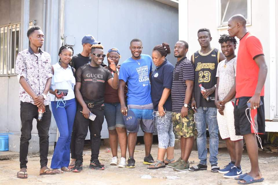 JB Celebrates Birthday With Inmates At South Beach Prison PHOTOS: Bruzee Bruce