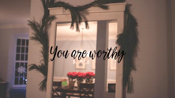 I promise I'm worthy…