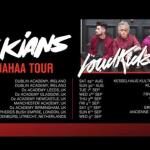 LoudKidz announced as main support for the Janoskians European tour
