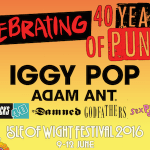 IOW Festival to celebrate 40 years of Punk – Iggy Pop, Adam Ant, Buzzcocks and more