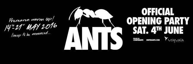 ANTS to return to Ushuaïa Ibiza Beach Hotel Ibiza 2016