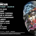 Circus 14th Birthday – Yousef – Arts Club Liverpool (24 Sep 2016)