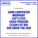 Liverpool Music Week 2016 Adds Dinosaur Jr.+ Louis Berry To The Bill