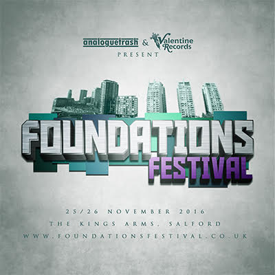 FOUNDATIONS 2016 - A new music festival launched in Manchester