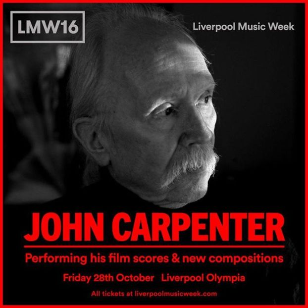 REVIEW: THE MASTER OF HORROR, JOHN CARPENTER, LIVERPOOL MUSIC WEEK 2016