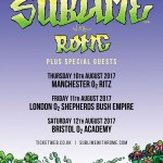 Sublime With Rome Announce August 2017 UK Headline Dates