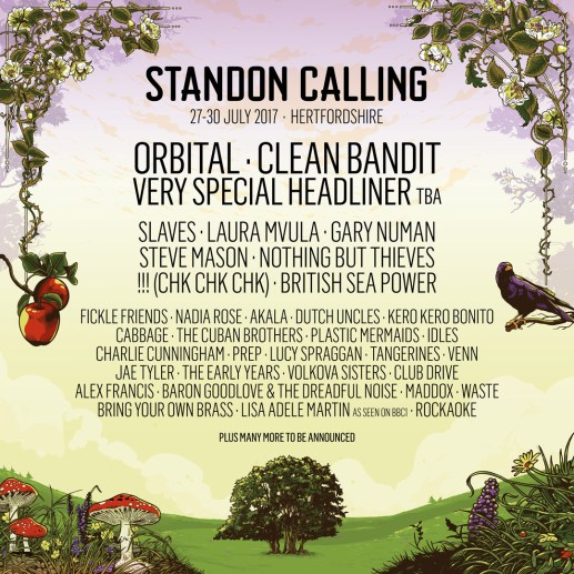 Orbital and Clean Bandit lead first wave of acts for Standon Calling 2017