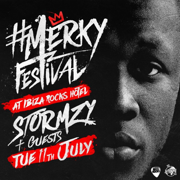 Stormzy takes over for debut day to night, multi stage #Merky Festival at Ibiza Rocks Hotel