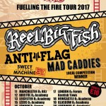 Fireball – Fuelling The Fire Tour 2017 Announces Reel Big Fish, Anti-Flag and more