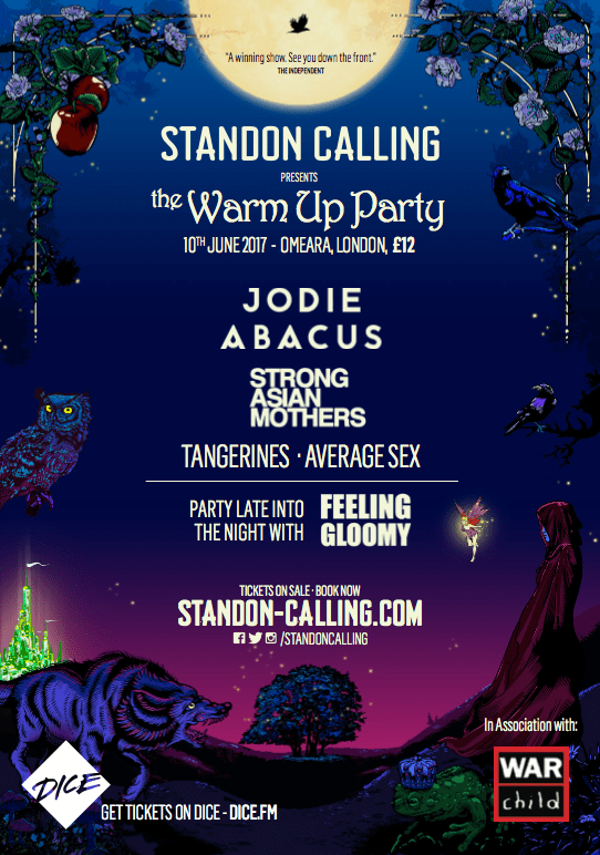 Standon Calling + War Child Announce The Standon Calling Warm-Up Party