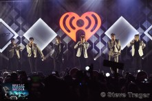 December 11, 2019 Monsta x performs on stage as part of Q 102's Jingle Ball 2019 Presented By Capital One at The Wells Fargo Center on December 11, 2019 in Philadelphia, Pa. (Photo By: Steve Trager/ The Photo Access )