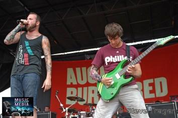 AUGUST BURNS RED VANS WARPED TOUR 2011 CAMDEN NEW JERSEY 09